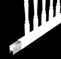 Aluminum Inserts for Railings